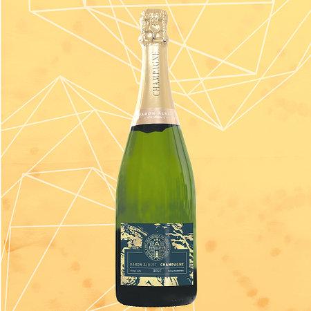 Flasche Champagner Edition - Hamburger Abendblatt