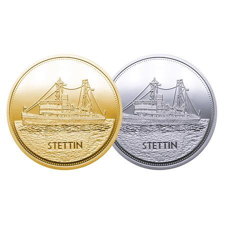 Medaille Eisbrecher Stettin